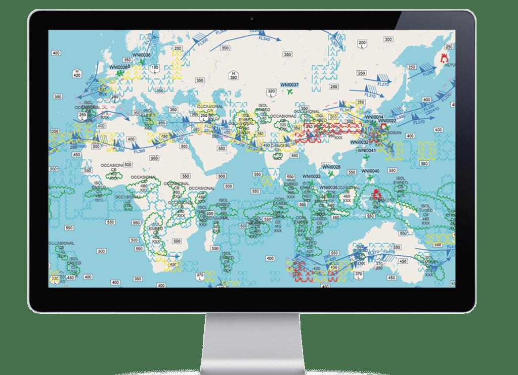 WNi Flight watch interface